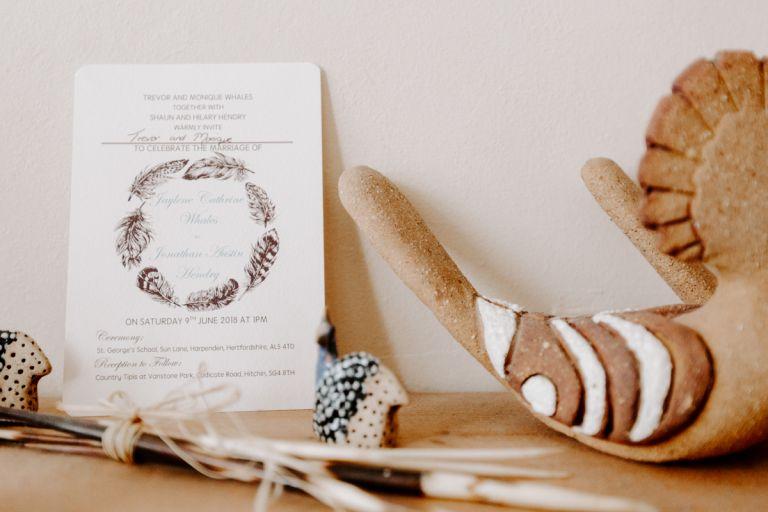 Bohemian wedding invitation designBoho wedding photography