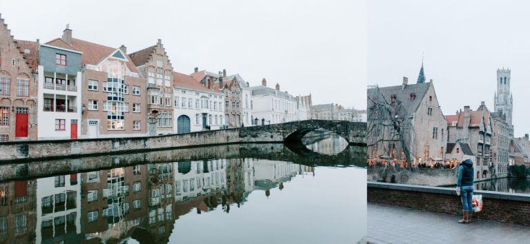 Dusk in Bruges