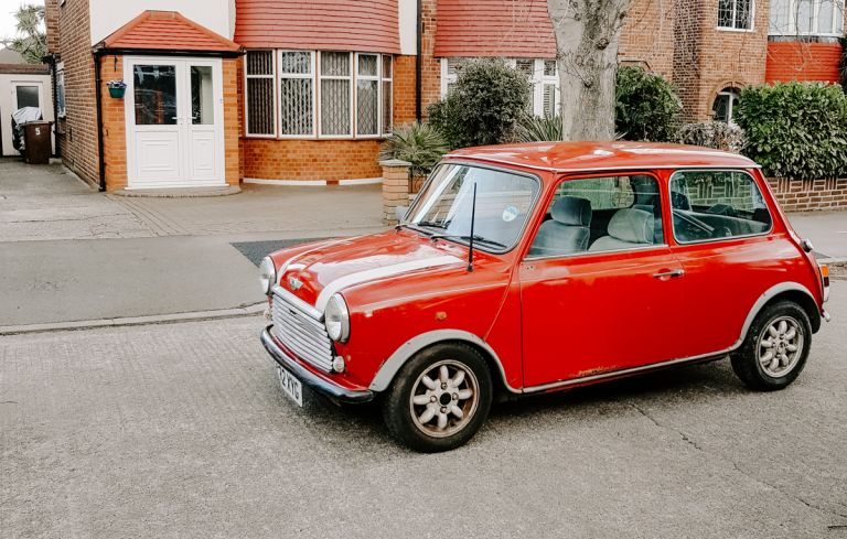 A classic Mini mayfair