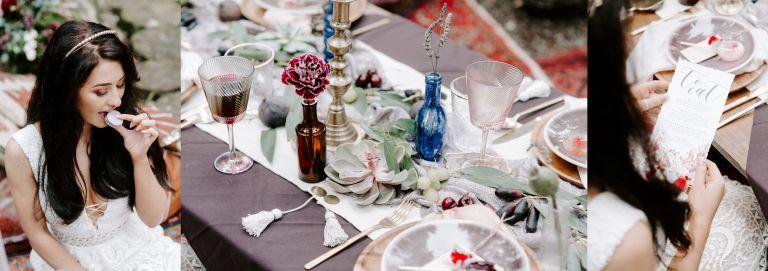 Disney princesses styled wedding shoot at Longton Wood