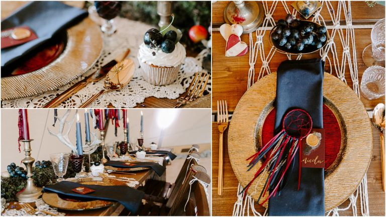 Country Tipis wedding