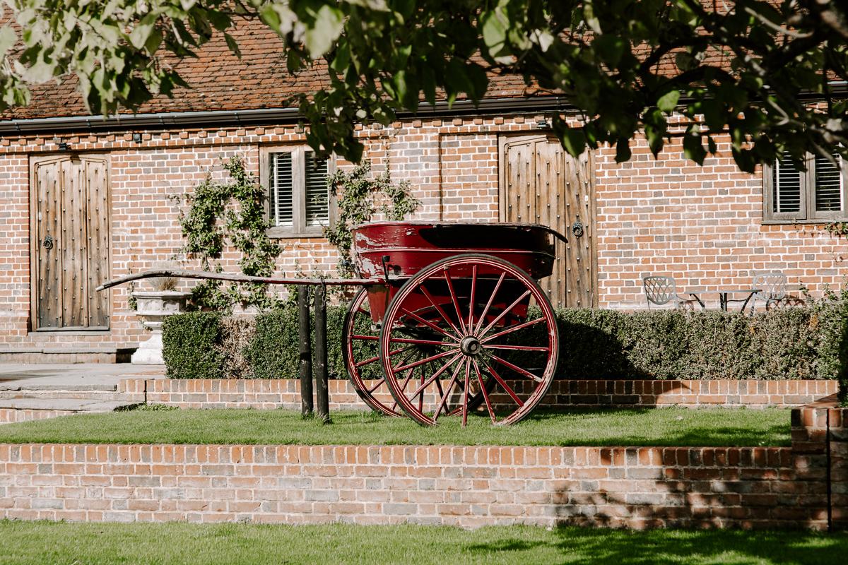 Pretty barn wedding venue in Hertfordshire