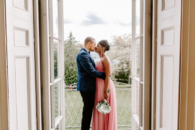 Wedding photography at Valentines Mansion wedding venue London